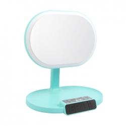 藍牙音響帶化妝鏡LED檯燈