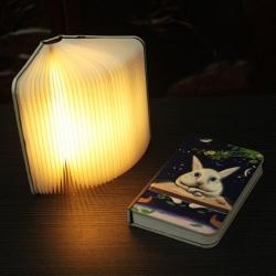 浮雕玉兔書本燈