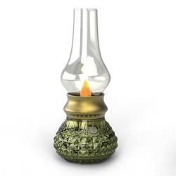 吹控煤油燈