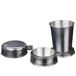 不鏽鋼伸縮折疊杯