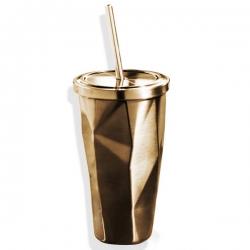 菱形吸管杯