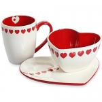 Heart-shaped Ceramic Mug