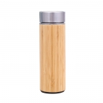 Creative Stainless Steel Bamboo Thermal Cup
