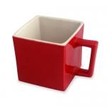 Square Ceramic Mug