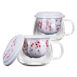 創意櫻花玻璃杯