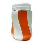 條紋陶瓷杯