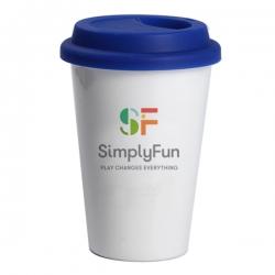 單層陶瓷咖啡杯