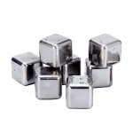 Guick-freeze stainless steel ice cube