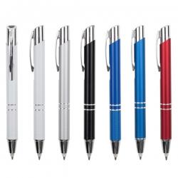 三合一金屬筆-按動式