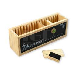 黑白板木筆筒