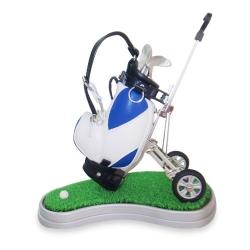 高爾夫拉車筆筒