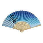 Bamboo Handle Folding Fan
