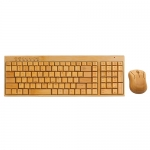 Bamboo Keyboard Set