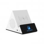 藍芽音箱創意無線充支架