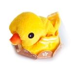 壓縮純棉小黃鴨毛巾