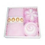 Bath Ball Towel Set