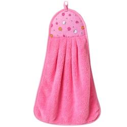 輕柔纖維擦手毛巾