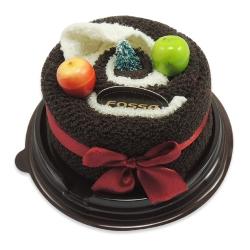 生日蛋糕壓縮毛巾