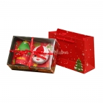 Christmas style towel gift box