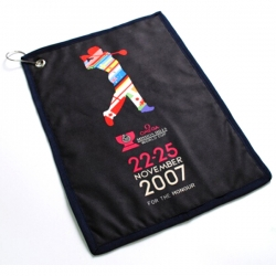 Golf Towel with Ring