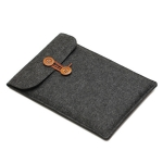Rope Button Felt Notebook Bag