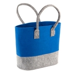 Double-color Felt Tote Bag