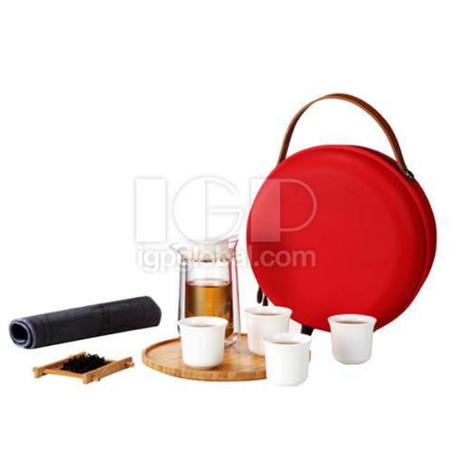 Round tea set