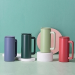 Pure color dull-polished vacuum cup