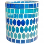 Color Mosaic Glass Cup