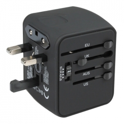4 USB Global Universal Travel Adaptor
