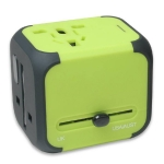 Mixed Black Travel Adaptor