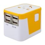 四USB多國通用插頭