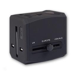 旅行商務多國通用USB插頭