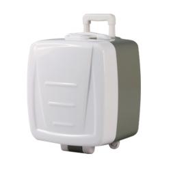 行李箱造型插頭保護盒
