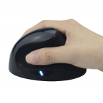 Vertical handheld wireless mouse