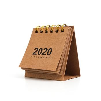 迷你桌面記事線圈日曆本