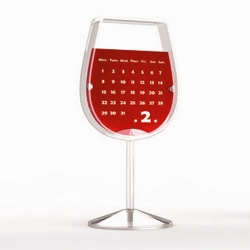 紅酒杯檯曆